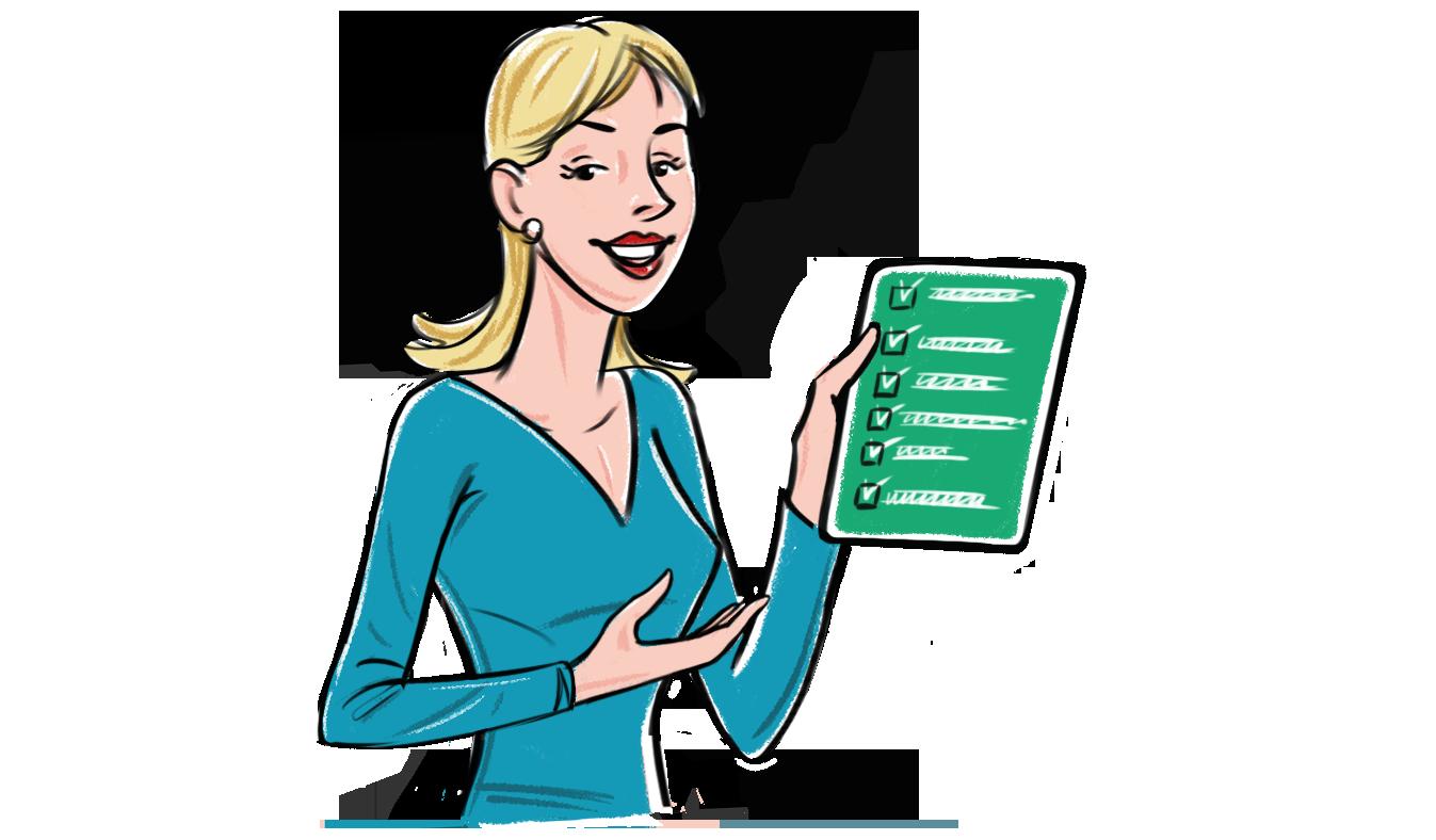 illu-5-woman-checklist-flush